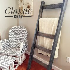 Blanket Ladder | Rustic Wooden Farmhouse Quilt Ladder | Distressed Towel Rack Ladder | Decorative Country Decor Furniture | Nursery Decor by ChattanoogaWoodwork on Etsy https://www.etsy.com/listing/508770049/blanket-ladder-rustic-wooden-farmhouse