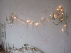 Twinkle lights all year round. <3