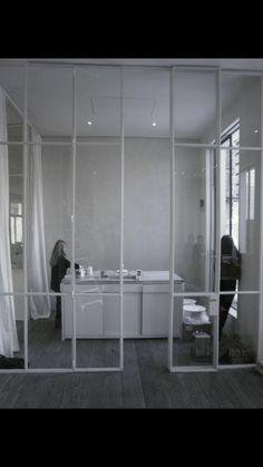 Steel Doors in white. www.gijsrobert.com
