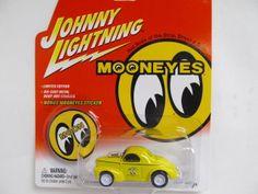 Johnny Lightning  WHITE LIGHTNING MOONEYES Series 1941 Willys