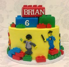 Lego City Police Cake