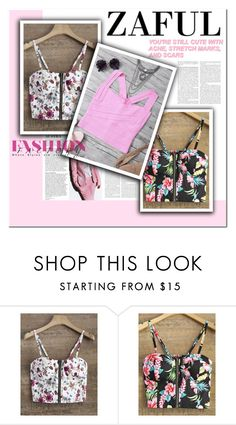 """Fashion factory"" by melodibrown ❤ liked on Polyvore featuring zaful"