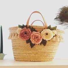 New line of pastel flower baskets in the making. #pastels #pink #homedecor #baskets #hometrend #style #handmade #handmadeuk #etsyuk #shabbychic #farmhousestyle