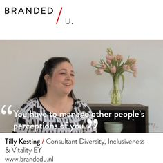 Tilly Kesting / Consultant Diversity, Inclusiveness & Vitality EY
