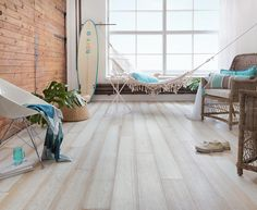 Beach House Flooring Ideas - If you are trying to search for ideas for flooring then this is the place to be. For the variou Wood Tile Floors, Wooden Flooring, Flooring Ideas, Condo Design, House Design, White Wooden Floor, Coastal Living, Modern Architecture, Beach House