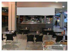 Bar cafetería en centro comercial funcionando, local 96 m2 totales, salón 58 m2, terraza 6 mesas se puede pedir 6 mesas más. www.myspainhouse.com