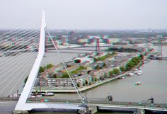 https://flic.kr/p/fg2zfw | View from WPC 3D | Erasmusbrug anaglyph  red/cyan