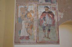 S. Martino Vescovo e S. Rocco; opera di Girolamo di Matteo da Gualdo (XVI sec)