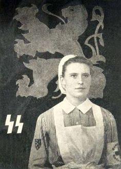 Flemish SS Nurse.