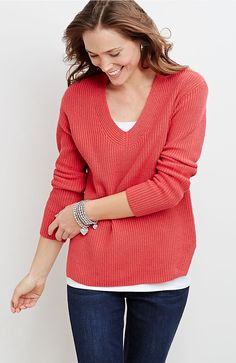 petite modern sweater from J.Jill