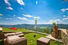 Villa Sancta Maria, Motovun Wind Turbine, Golf Courses, Villa, Mansions