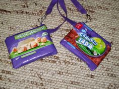 Schokotaschen / Chocolate bags / Upcycling