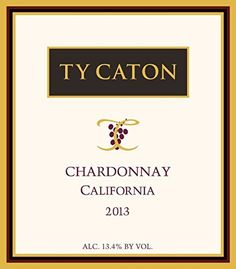 2013 Ty Caton California Chardonnay 750 mL * Check this awesome product by going to the link at the image.