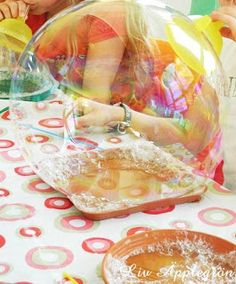 Äpplegrön: Super Seifenblasen MIT Rezept und guten Beispielen für Experimente