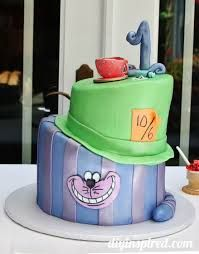 Image result for alice in wonderland cake wrap