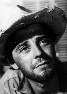 "Gérard Philipe in ""Les Orgueilleux"", 1953."