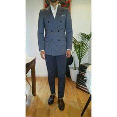 http://www.rincondecaballeros.com/threads/19-%C2%BFQue-llevas-puesto-hoy-Ense%C3%B1anos-tu-look?p=228995#post228995 #me #rincondecaballeros #styleforum #mensfashionpost #menstyle #menswear #mensfashion #menwithclass #menstyleguide #guyswithstyle #bespoke #outfitoftheday #model #dapperedmen #elegance #fashionformen #instagood #sartorial #sprezzatura #simplydapper #igers #wiwt #outfit #fashion #instastyle #instafashion #ootd #follow #gq