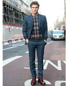London Fall Winter Shows - Best Dressed Oliver Cheshire
