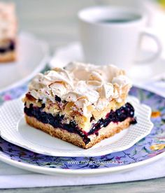 Polish Desserts, Cookie Desserts, Delicious Desserts, Yummy Food, Sweets Cake, Pumpkin Cheesecake, How Sweet Eats, Dessert Bars, Coffee Cake