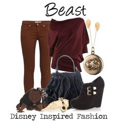"""""""Beast - from Disney's Beauty and the Beast"""" by elliekayba on Polyvore"""