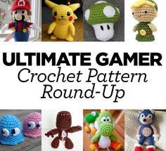 Ultimate Gamer Crochet Pattern Round-Up