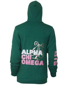 Alpha Chi Omega Lyre LITB Hoodie