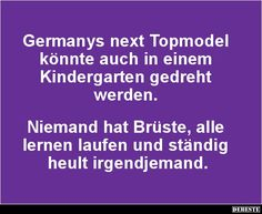 Germanys next Topmodel könnte auch in einem Kindergarten..