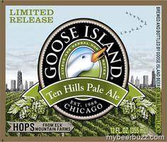 Goose Island New Hop-Focused Beer Series - Up First Ten Hills Pale Ale (Video)