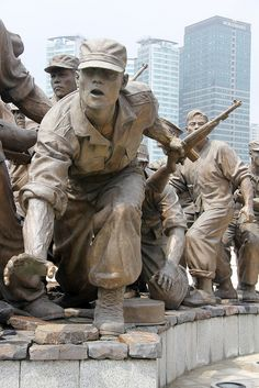 Korea War Memorial, Seoul, South Korea - This sculpture is huge!