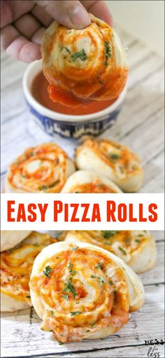 1957 best simple family meals images on pinterest in 2018 cooking this easy pizza rolls recipe is the answer for when your kid is having a pizza craving it makes a quick and easy snack or lunch and the best part is that forumfinder Gallery