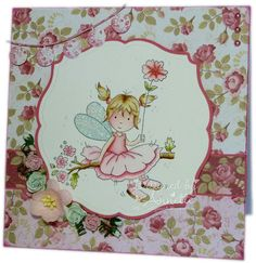 LOTV - May Fairy with Always and Forever Paper Pad by Annette Connelly