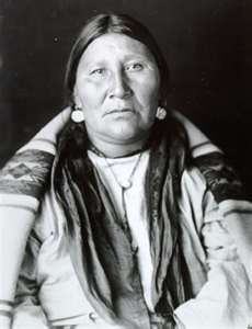 """Pretty Shield"" (1856–1944) was a medicine woman of the Crow Nation. Her autobiography was written with the help of Frank B. Linderman, who interviewed her using an interpreter and sign language. This book was perhaps the first record of the women's side of Native American life. The Pretty Shield Foundation is named in her honor."