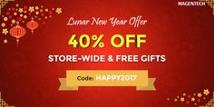 Lunar New Year Special Offer: Get 05 Premium Magento Themes worth $340 - Save up to 40% OFF Magento Themes & Prestashop Themes on #ThemeForest and MagenTech Store.