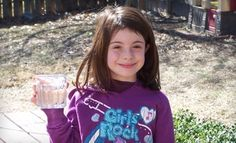 Ella Grace gave up her 8th birthday to provide 41 people in a 3rd-world country with access to clean drinking water through Charity: Water.