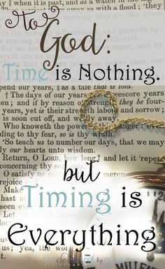 Pray it forward. Clarity is not the goal. Ease is not the determining factor. Timing is everything. 7-step process for discerning God's will and acting in His time and timing.
