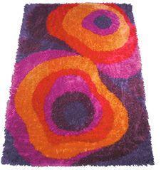 Danish carpet producer Ege Rya and the rugs that defined an era Funky Rugs, Rug Hooking Designs, Rya Rug, Latch Hook Rugs, Pretty Room, My New Room, Entry Rug, Rug Making, Oriental Rug