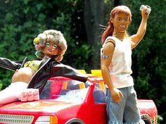 This is too funny. Should be white trash barbie! Barbie Funny, Bad Barbie, Barbie And Ken, Barbie Humor, Girl Barbie, Barbie Stuff, Disney Pixar, Barbie World, Barbie Life