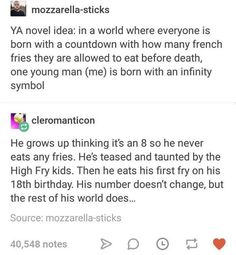 French fries, with power