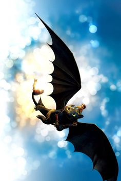 I Love Toothless! Toothless and Hiccup from How to Train your Dragon... ^_^