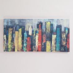 """City Towers II"" by Georges Generali 