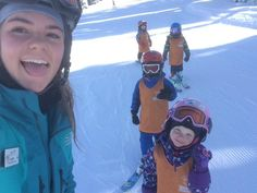 Want to become a ski instructor? Take our 4 week course and secure your paid ski season job in Whistler teaching kids how to ski. Get started now on our best project in Canada. Ski Season, Gap Year, Two Year Olds, Whistler, Teaching Kids, Skiing, How To Become, Bucket, Train