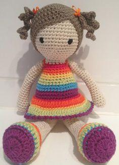 Sweet Crochet Dolls project by Anne S