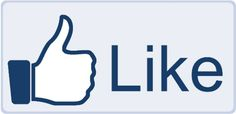 New Facebook like button slightly re-designed