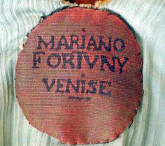 Fortuny velvet stenciled coat | The House of Beccaria