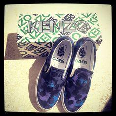 ❤ My new Kenzo Paris x Vans