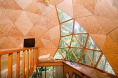 A geodesic dome cabin in Aptos, California | 27 Tiny Houses You Can Actually Stay In
