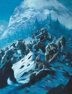Werewolf the Forsaken RPG Hunting Ground: the Rockies Poster From Onyx Path Publishing