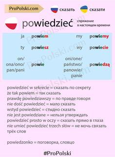 Learn Polish, Polish Language, Different Languages, Funny Girls, Poland, Education, Polish, Studying, Onderwijs