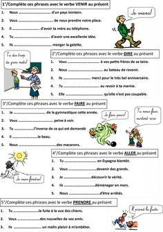 Learn French Worksheets Free Printable Learn French Videos For Kids Spanish French Language Lessons, French Language Learning, French Lessons, French Basics, French For Beginners, French Tips, French Flashcards, French Worksheets, French Verbs