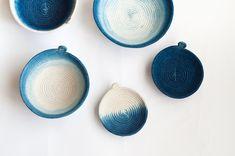 Gemma Patford's rope baskets